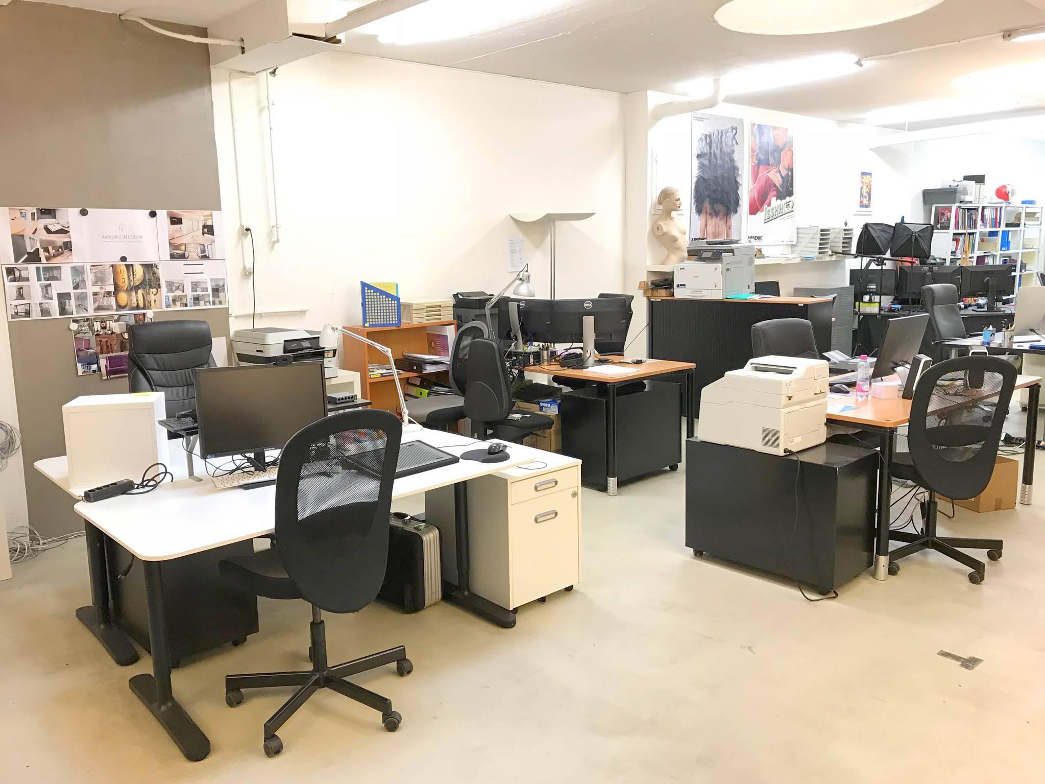 Open Space - Coworking du Valentin à Lausanne